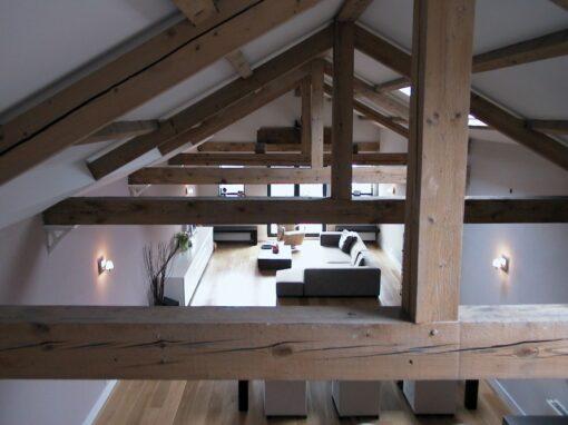Woonkamer: strak, modern en loft