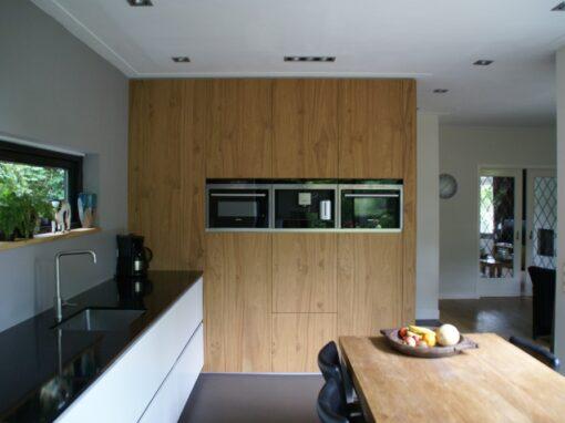 Moderne keuken: Nieuwe aanbouw