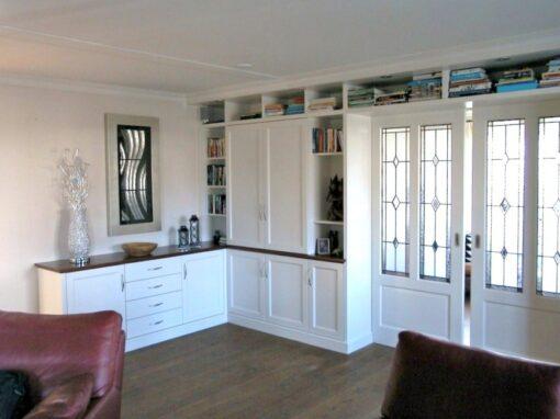 En suite: en suite deuren met dressoir engelse stijl