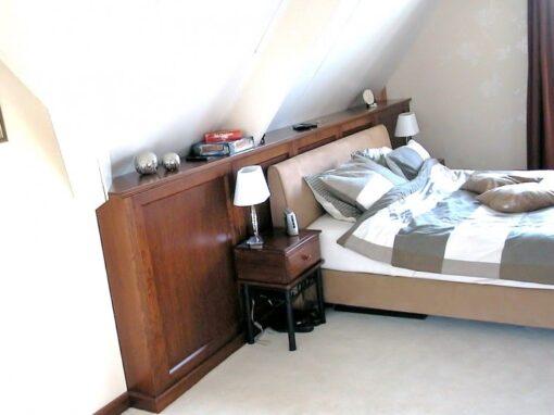 Slaapkamer: Engelse stijl met klassieke elementen