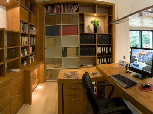 Werkkamer: Bamboe