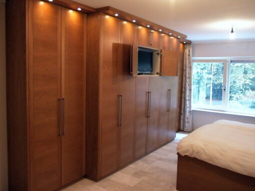 Slaapkamer: Kersenhout, warme sfeer