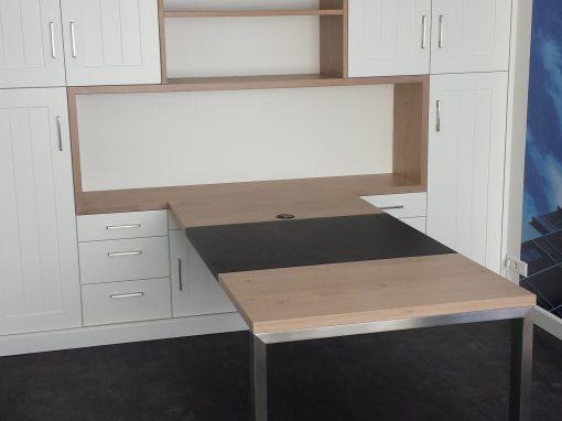 Werkblad modern met hout